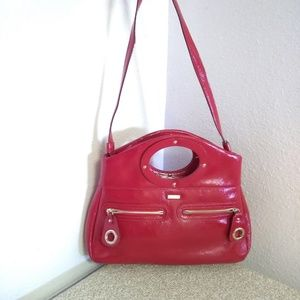 Kate Spade NY Red Patent Leather Bag